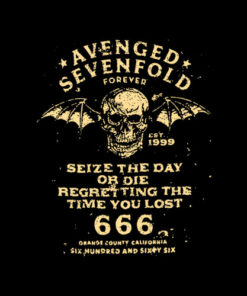 Avenged Sevenfold Seize The Day Band T Shirt