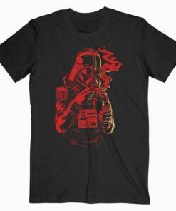 Darth Vader Cool Monochrome Red Art Funny Star Wars T Shirt