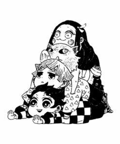 Demon Slayer Kimetsu no Yaiba Anime T Shirt