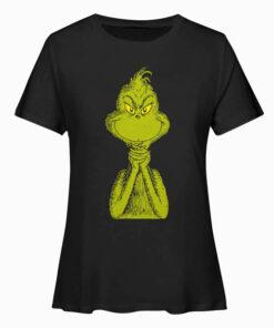 Dr. Seuss Classic Sly Grinch T Shirt