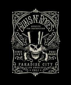 Guns N Roses Paradise City Band T Shirt