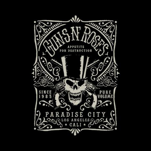 Guns N Roses Paradise City Band T Shirt