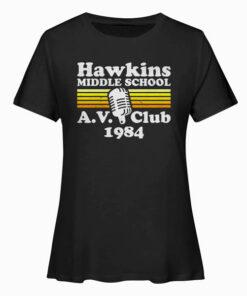 Hawkins Middle School A.V. Club T Shirt