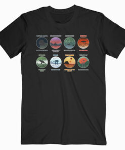 Minimalist Planets Star Wars T Shirt