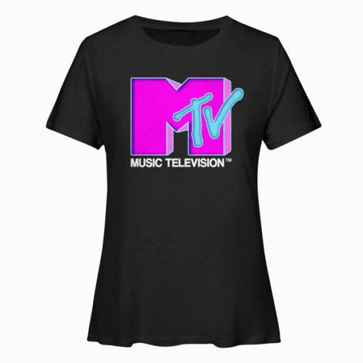 Mtv Pop Logo T Shirt