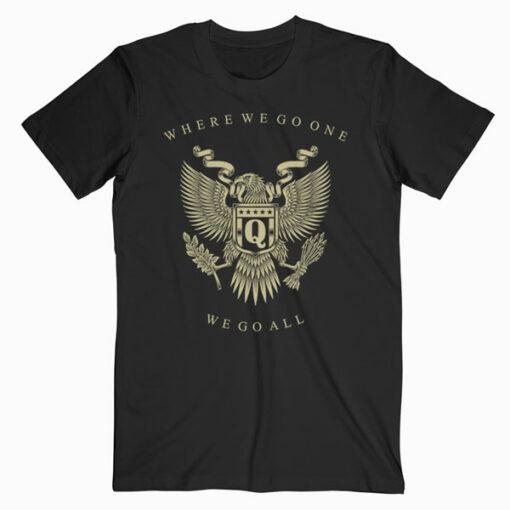 Qanon Eagle WWG1WGA T Shirt