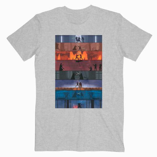 SW 1-8 Star Wars T Shirt