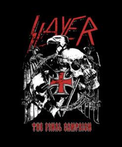 Slayer Final Campaign Eagle Band T Shirt