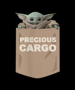 Star Wars The Mandalorian The Child Precious Cargo Pocket T Shirt