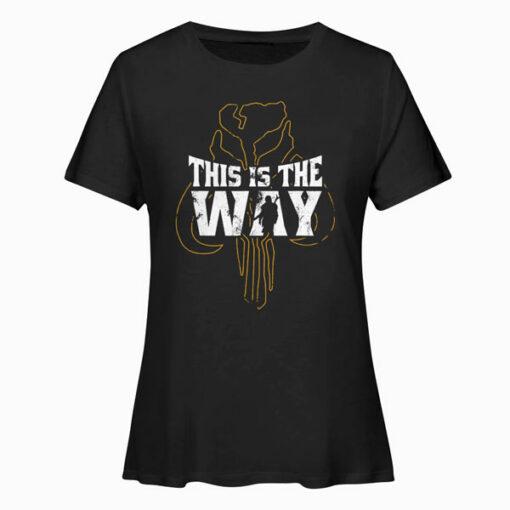 Star Wars The Mandalorian This Is The Way Mythosaur Overlay Camiseta T Shirt