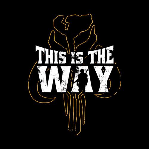 Star Wars The Mandalorian This Is The Way Mythosaur Overlay Camiseta dp