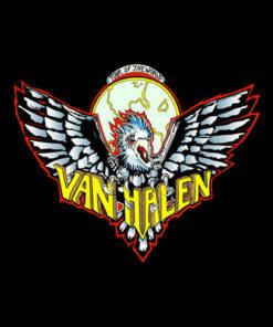 Van Halen Tour Of The World Band T Shirt