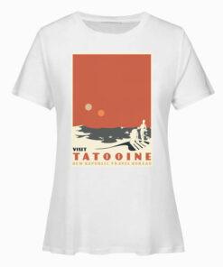 Visit Tatooine New Republic Travel Bureau Star Wars T Shirt