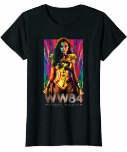 Wonder Woman 84 Golden Warrior Women T-shirt