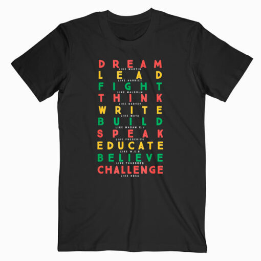 Black History Month African American Country 2019 T Shirt