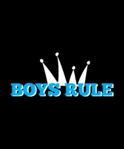 Boys Rule T Shirt