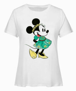 Disney Minnie Mouse Shamrock Dress St Patrick's Day T Shirt