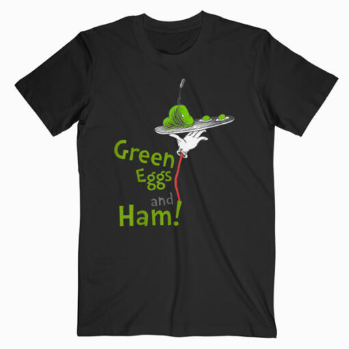 Dr Seuss Green Eggs and Ham Short Sleeve T Shirt