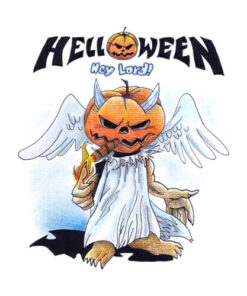 Helloween Hey Lord Band T Shirt