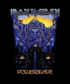 Iron Maiden Powerslave Band T Shirt