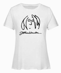 John Lennon Band Graphic T Shirt