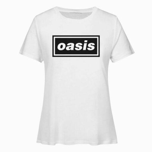 Oasis Logo Band T Shirt