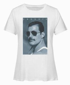 Queen Freddie Mercury In Shades Band T Shirt