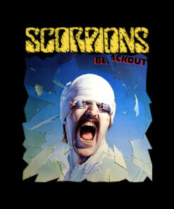 Scorpions Black Out Band T Shirt