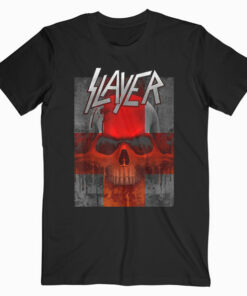 Slayer Bloody Flag Band T Shirt