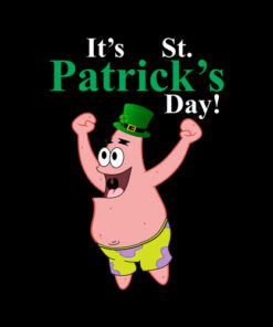 Spongebob St. Patrick's Day T-Shirt