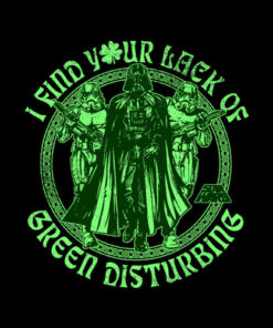 Star Wars Lack Of Green Celtic St Patrick's Graphic T-Shirt