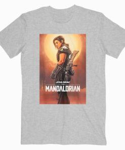 Star Wars The Mandalorian Cara Dune Poster de Star Wars T Shirt