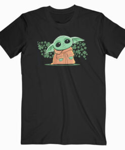 Star Wars The Mandalorian The Child Green St Patrick's Day Short Sleeve T Shirt