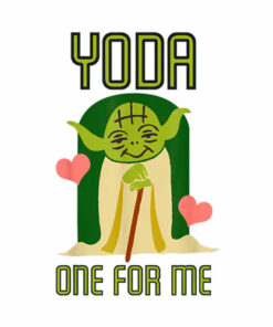 Star Wars Yoda One For Me Camiseta de manga corta T Shirt
