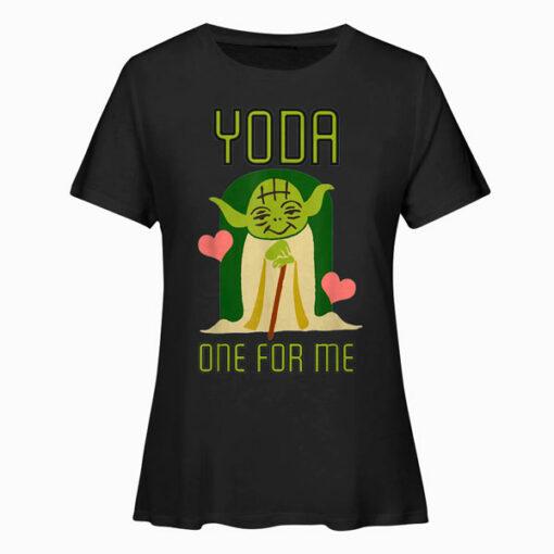 Star Wars Yoda One For Me Camiseta de manga corta T Shirt