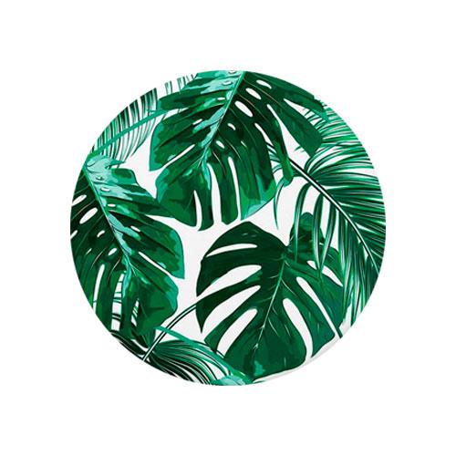 Tropical Palm Leaves Design T Shirt