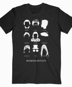 Women Artists T Shirt
