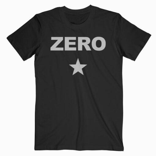 Zero Star Smashing Pumpkins Band T Shirt