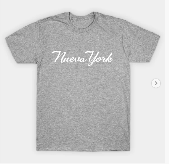 Nueva York In The Heights T Shirt