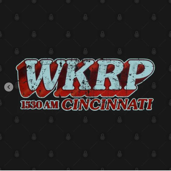 WKRP in Cincinnati T-Shirt Design