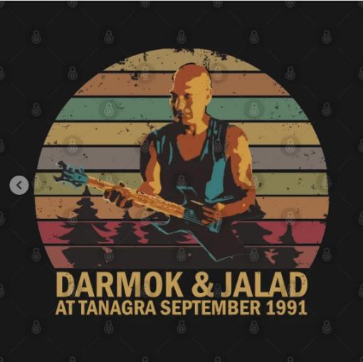 Darmok And Jalad At Tanagra T-Shirt Design