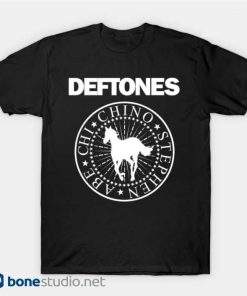 Deftones Band T Shirt Hey Ho Ramones Band T Shirt