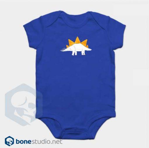 Dinosaur Onesie Doritosaurus Blue Baby Onesie
