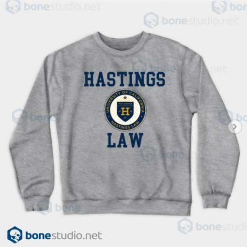 Hastings Law UNIVERSITY OF CALIFORNIA Heather Sweatshirt