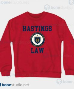 Hastings Law UNIVERSITY OF CALIFORNIA Red Sweatshirt