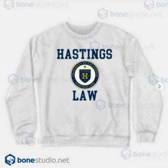 Hastings Law UNIVERSITY OF CALIFORNIA White Sweatshirt