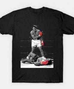Muhammad Ali t shirt black