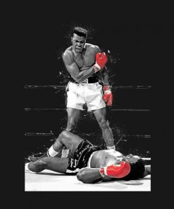 Muhammad Ali t shirt design