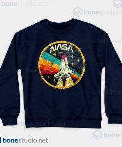 NASA USA Space Agency V03 Sweatshirt Navy