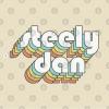 Steely Dan Retro Faded-Style Typography Design T-Shirt Design